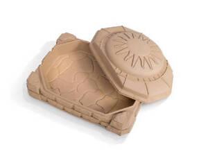 Sandbox with sand