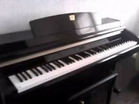 Clavinova. Bargain as no room for it. Weighted full keyboard. Midi. Would work well for student.