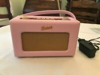 RETRO ROBERTS RADIO in pink