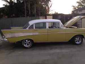 Fully restored 57 Chevy Bel Air Georges Hall Bankstown Area Preview