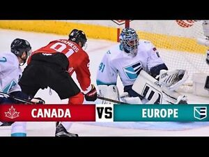 World Cup of Hockey Finals: Canada Vs. Europe