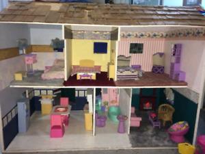 HUGE barbie house