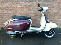 Royal Alloy TG 125cc S LC ABS own this scooter for only £20.65 a week