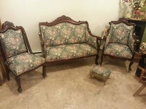 MOBILIER DE SALON ANTIQUE