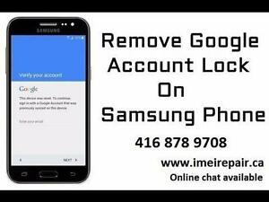 REMOVAL BYPASS Google SAMSUNG Account UNLOCK REPAIR SAMSUNG HTC HUWAEI SONY ALCATEL MOTOROLA PHONES and TABLETS