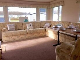 AMAZING CARAVAN FOR SALE CRESSWELL TOWERS NEAR NEWCASTLE SANDY BAY WHITLEY BAY AMBLE LINKS MORPETH