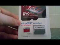SAMSUNG MICROSDXC EVO PLUS 128GB, UHS-I U3/CLASS 10