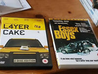 LAYER CAKE AND ESSEX BOYS DVDS