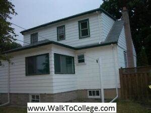 Steps from Fanshawe College. Detached House 5 rooms. All Inclusi