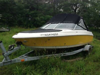 2008 SEASWIRL /Trailor  for sale or TRADE for PONTOON BOAT
