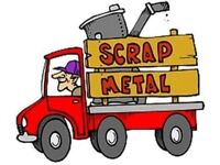 FREE SCRAP METAL COLLECTIONS/CLEARANCE/REMOVAL. RUBBISH REMOVALS HOUSE CLEARANCES SHED/GARAGE