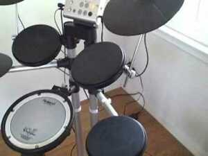 v-drums, e-drums - trade HD1 toms, cy5 cymbals