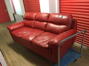 Beautiful Wow Red Couch Free Delivery