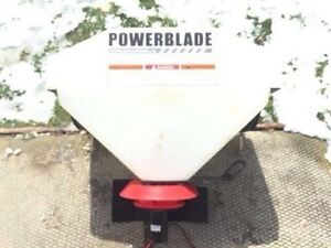 Power blade 12vdc Tractor/ATV spreader