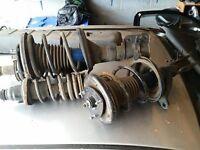 x4 springs and shock absorbers legs struts Honda Civic EP3 Type R