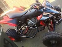 Yamaha yf2450r quad road legal