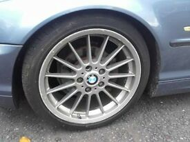 BMW STYLE 32 ALLOY WHEELS STAGGERED