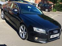 Pan Roof - SAT NAV + Many Extras - A5 Coupe 3.0TDi SPORT - New MOT on Sale - FULL SERVICE Complete!!