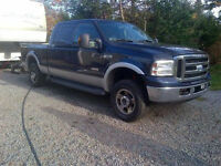 2006 Ford F-250 Pickup Truck & Trailer Combo