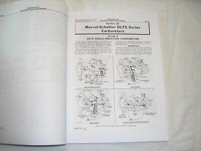 John Deere Carburetor Service Manual - A B D G H R L