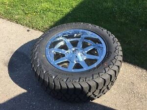 Brand new Fuel Maverick on Brand New 33x12.5x20 AT tires