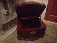steepletone vintage style record player