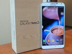 SAMSUNG GALAXY NOTE 3 ** UNLOCKED ** WHITE+ BOX (MOBILICITY )