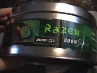 Karna Razer Boomslang 2000Dpi USB PS/2 Gaming Mouse Rare Vintage With Original Tin