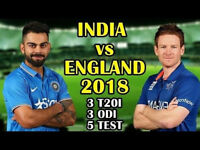 INDIA vs ENGLAND Cricket Tickets - Lords Test (Day 3) 11th August (x2 Adults)
