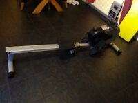 Henley rowing machine - bought Jan 18, used 3 times so practically new