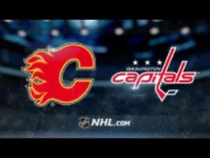 Flames Vs Capitals - 2 Tickets for sale