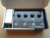 Ditto x4 Looper pedal by TC Electronic