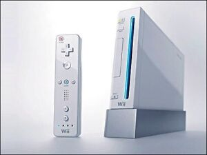 White Wii for sale