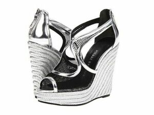 Pierre Balmain Metallic Sandals