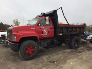 GMC Top Kick Small Dump Truck for Sale!