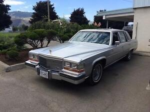 1989 Cadillac Brougham D'Elegance Sedan