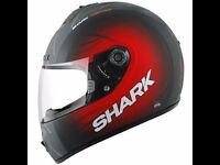 Shark S600 Track Helmet Bike Motorcycle Used size M