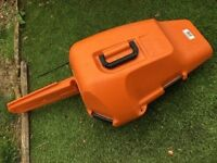 Stihl chainsaw case basicly new