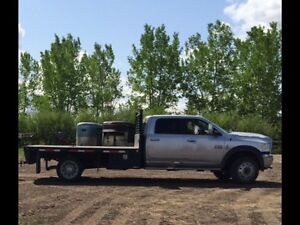 Hotshot Edm to Cgy!!! 10ft. Flat Deck Truck