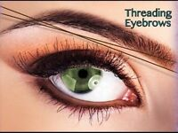 Eyebrow threading !