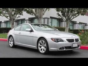 Fully Loaded BMW 645ci Sports Coupe (2005)