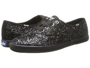 Black Glitter Keds shoes - women's Size 6