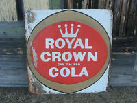 1960's Royal Crown Cola Sign