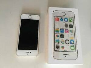 Iphone 5s blanc/gold 16g Bell