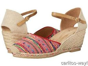 Hush Puppies Pepin Ankle Strap Espadrille Size 8 - New