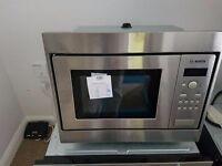Bosch HMT75M551B Serie 4 800 Watt Microwave Built In Brushed Steel New