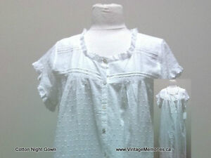 Brand new loose fitting and cosy 100% cotton night gown On Sale Cambridge Kitchener Area image 2