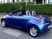Low mileage sport Ford KA convertible