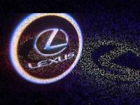 2 x LEXUS 3D COB LED DOOR LOGO COURTESY LIGHT LASER GHOST PROJECTOR SHADOW PUDDLE LAMPS