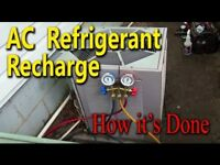 AC Refrigerant check and  Recharge !!!!